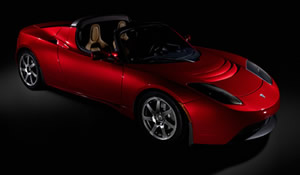 1er article sur la Tesla Roadster