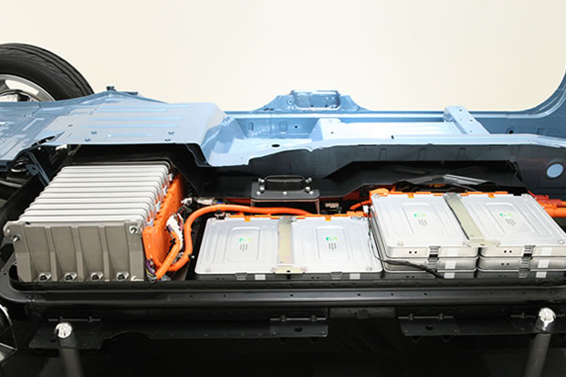 Les batteries de la Nissan LEAF