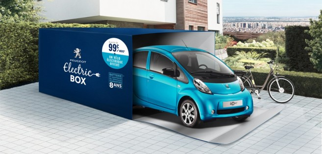 Peugeot Electric Box : la Peugeot iOn à 99 €/mois !