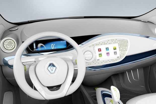 photo interieur renault zoe. Black Bedroom Furniture Sets. Home Design Ideas