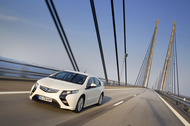 Photo d'Ampéra la nouvelle voiture Opel