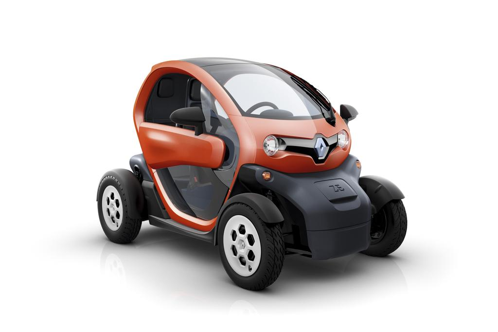 photo une renault twizy couleur rouge. Black Bedroom Furniture Sets. Home Design Ideas