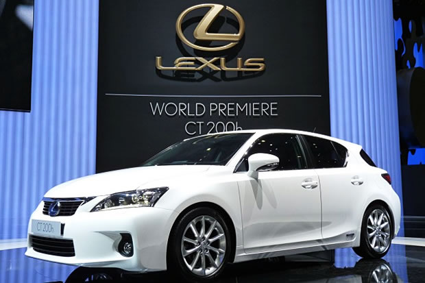 La Lexus CT 200h Full Hybrid