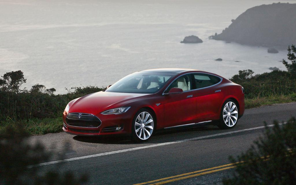 tesla model s. Black Bedroom Furniture Sets. Home Design Ideas