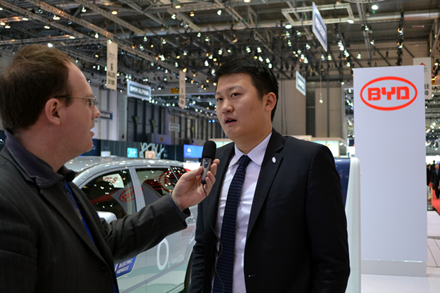 Interview de BYD