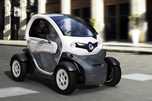 renault twizy la voiture lectrique pas ch re. Black Bedroom Furniture Sets. Home Design Ideas