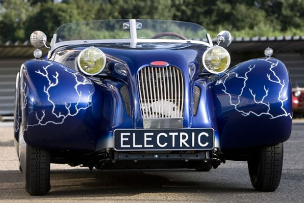 Burton Car Company Electric