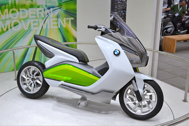 BMW scooter concept E