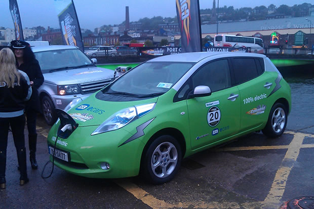 Cannonball Nissan LEAF