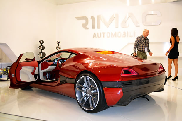 rimac concept one la voiture lectrique aux 1000 chevaux. Black Bedroom Furniture Sets. Home Design Ideas
