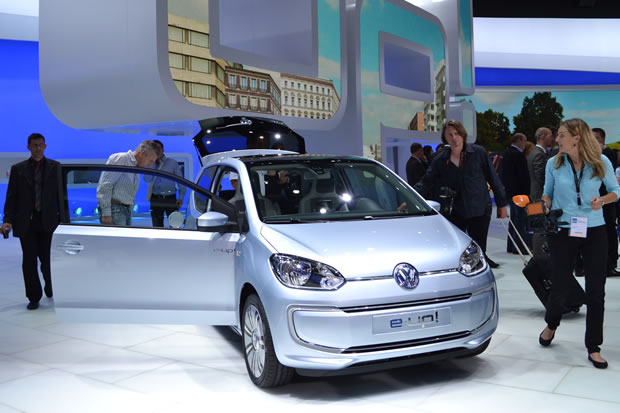 La Volkswagen e-Up à Francfort