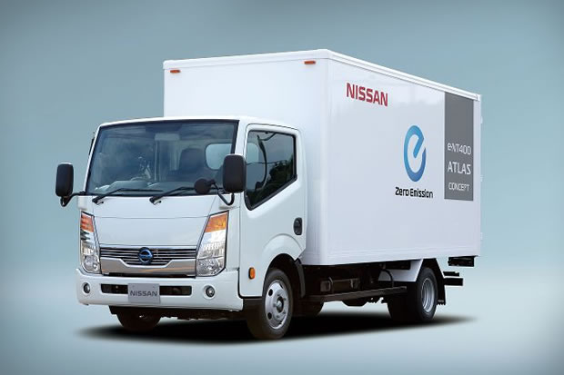 Photo Camion Electrique Nissan