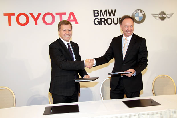 L'accord BMW-Toyota
