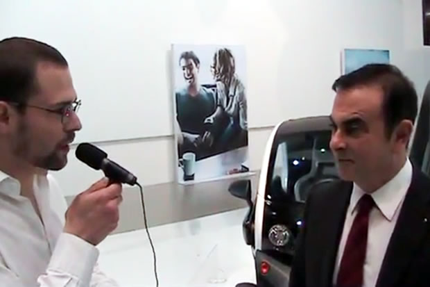 L'interview de Carlos GHOSN