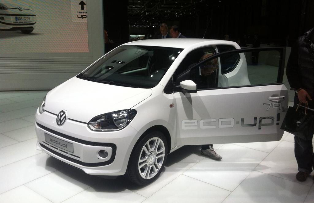 Volkswagen Eco-up au GNV : Oui, mais…