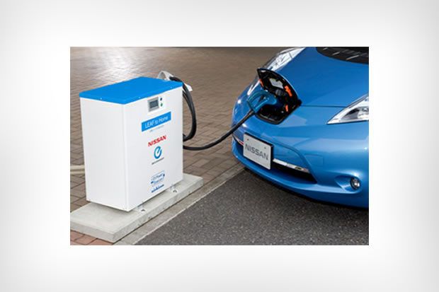 Smart-grid – Nissan expérimente le « Leaf to Home » au Japon