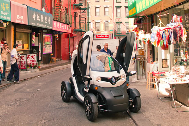 Twizy Way : l'autopartage selon Renault