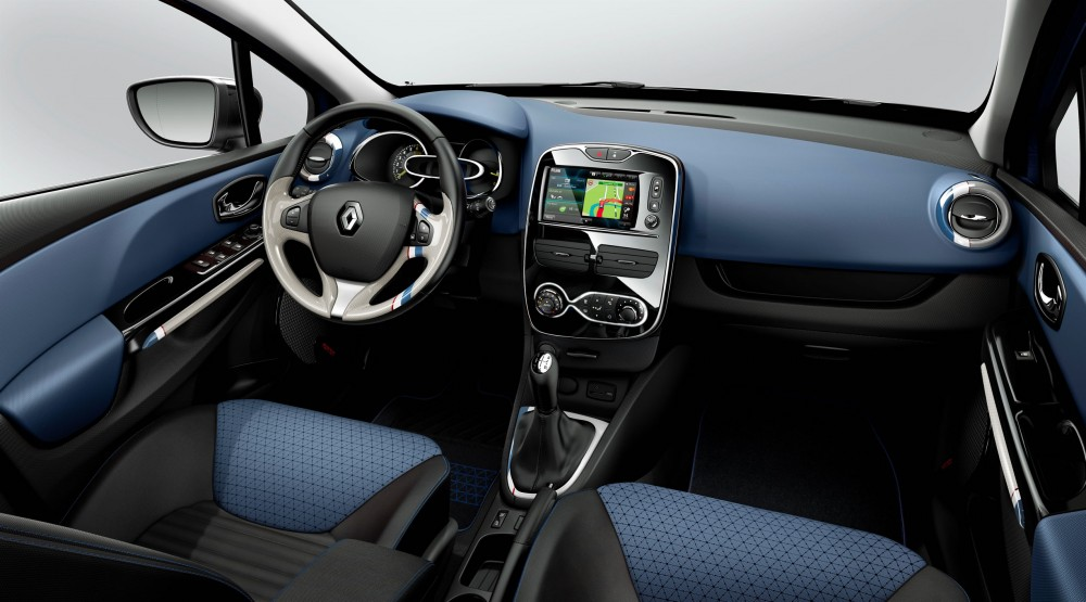 Photo l 39 interieur de la nouvelle renault clio 4 Interieur clio 4