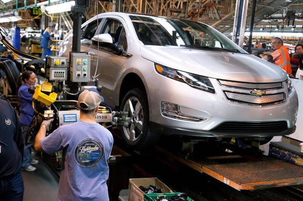 Chevrolet Volt production