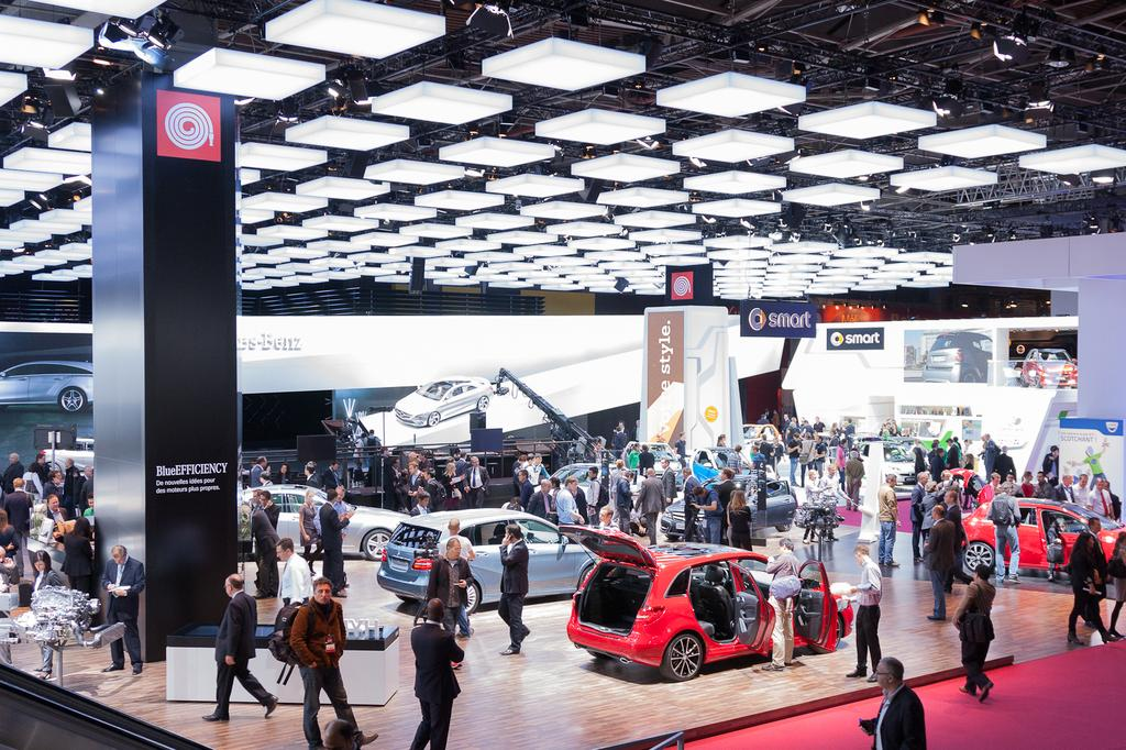 Les photos du Mondial de l'Automobile Paris 2012