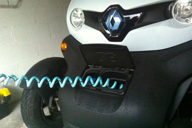 cable de recharge Twizy