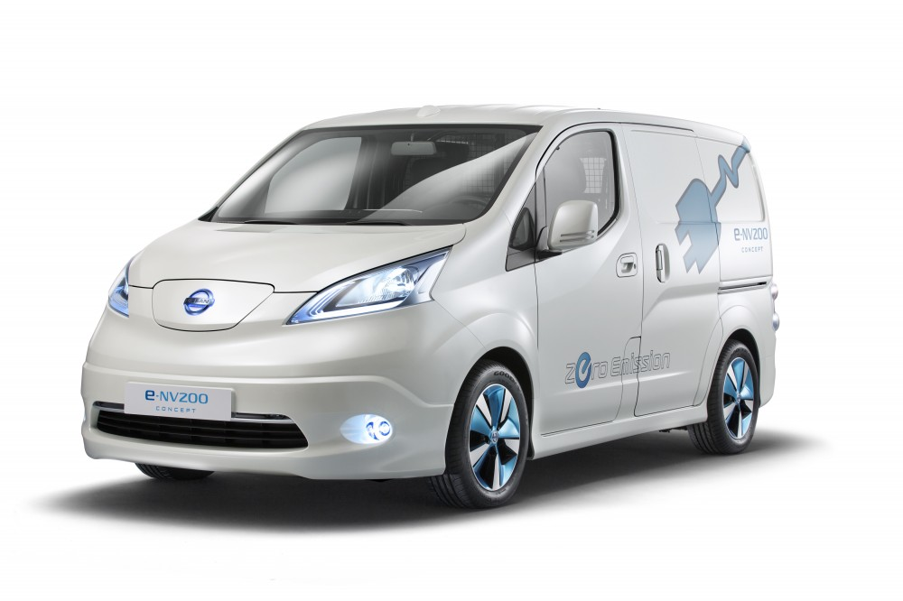 photo le nissan e nv200 l 39 utilitaire 100 lectrique. Black Bedroom Furniture Sets. Home Design Ideas