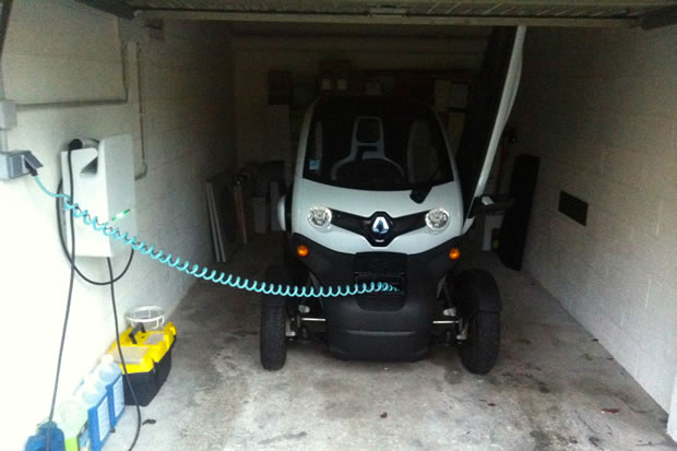 recharge Twizy