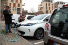 La Renault ZOE attire l'attention des curieux !