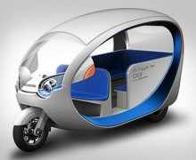 Terra Motors electric tuk tuk