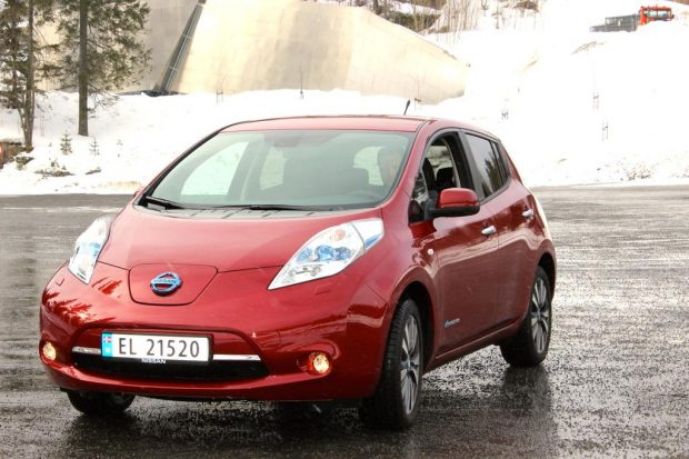 Nissan Leaf : démonstration d'innovations technologiques