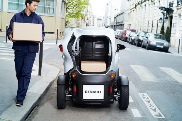 renault twizy cargo prix autonomie et fiche technique. Black Bedroom Furniture Sets. Home Design Ideas