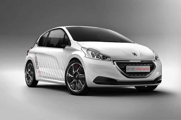 peugeot le concept 208 hybrid fe d passe les objectifs. Black Bedroom Furniture Sets. Home Design Ideas