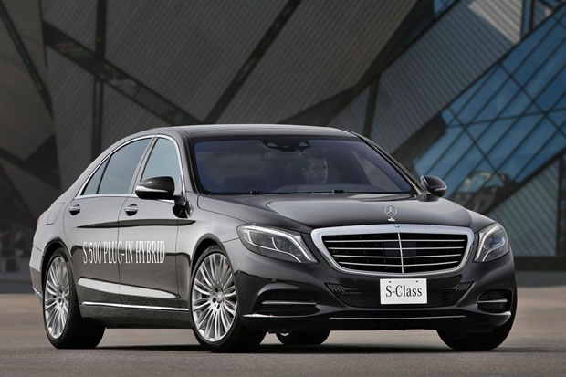 Mercedes S 500 hybride rechargeable