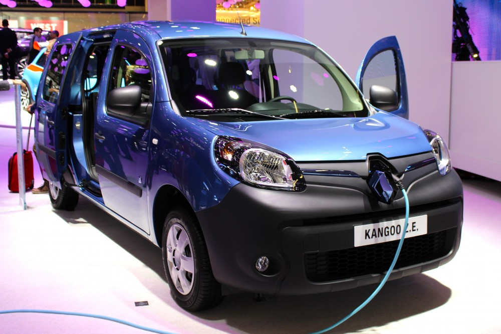 photo renault kangoo electrique. Black Bedroom Furniture Sets. Home Design Ideas