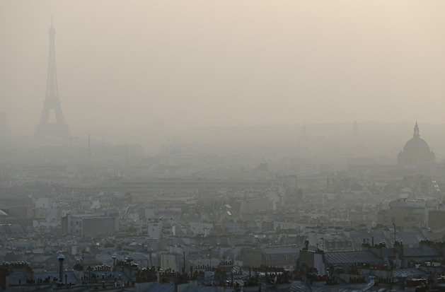 Pollution à Paris – Des restrictions de circulation dès 2015