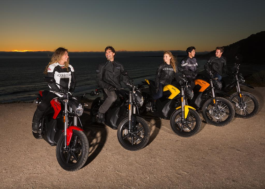 Zero Motorcycles : des batteries garanties 5 ans