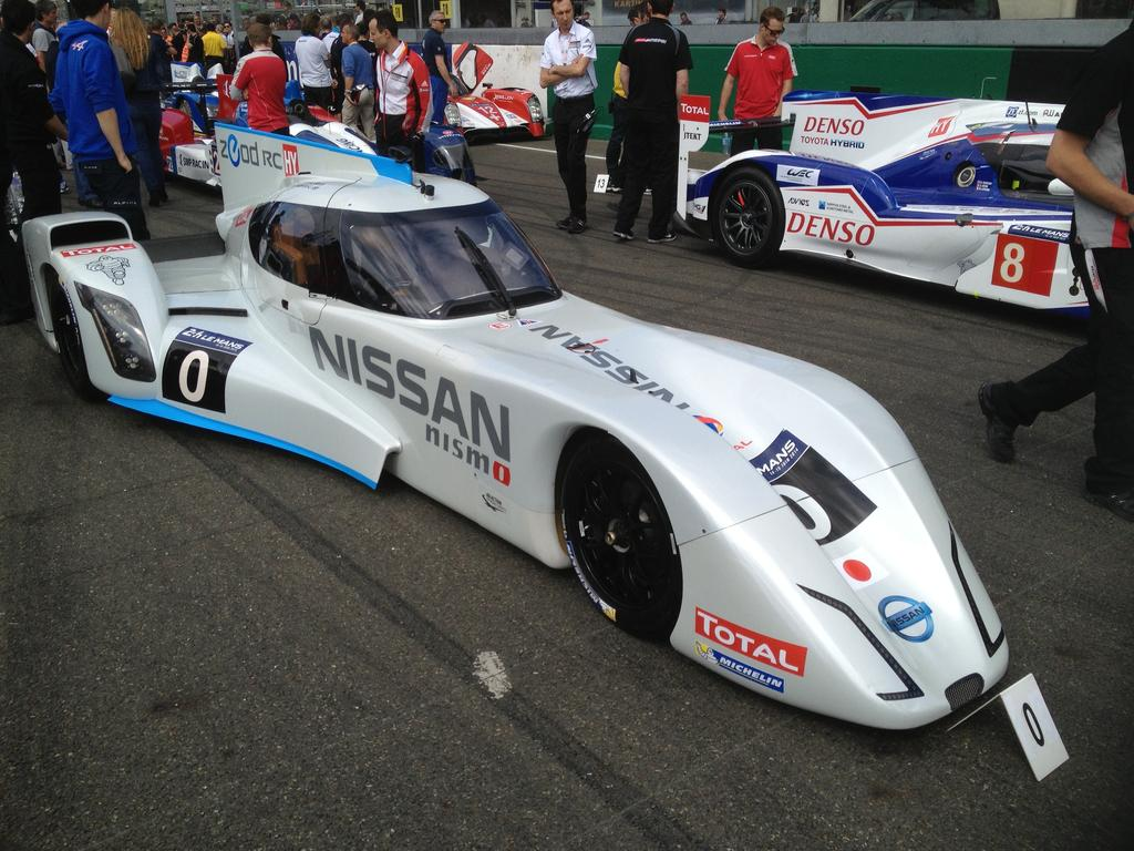 24 heures du mans 2014 la nissan zeod rc boucle un tour for Garage automobile le mans