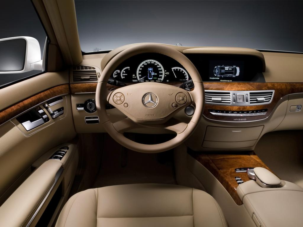 Mercedes s400 hybrid automobile propre for Mercedes s interieur
