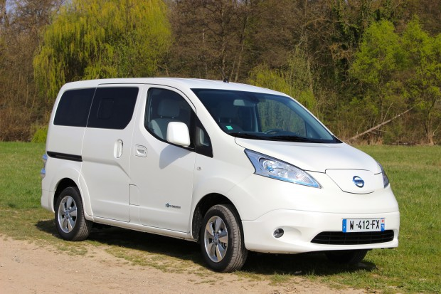 essai nissan e nv200 et retours d exp rience des utilisateurs. Black Bedroom Furniture Sets. Home Design Ideas