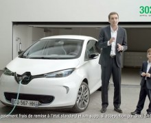 pub tv renault zoe la voiture lectrique c est simple. Black Bedroom Furniture Sets. Home Design Ideas