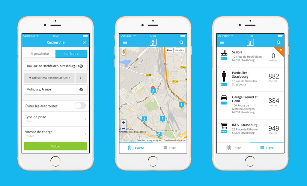 Mondial de l'auto : ChargeMap lance sa nouvelle application mobile
