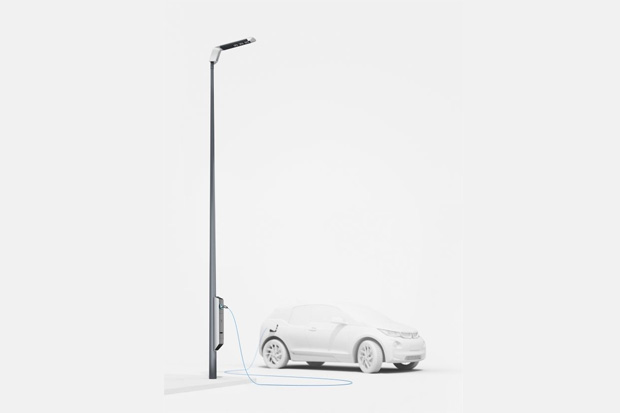 Light & Charge – Quand la BMW i3 se recharge sur l'éclairage public