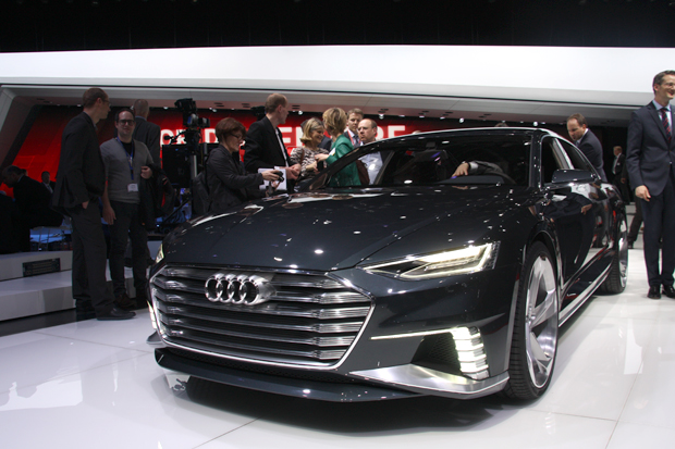Audi Prologue Avant – Le break hybride rechargeable en direct du salon de Genève