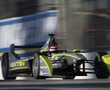 Formule E - Nelson Piquet s'impose à Long Beach