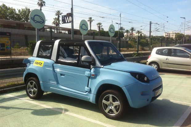 La Bluesummer disponible en location chez Hertz
