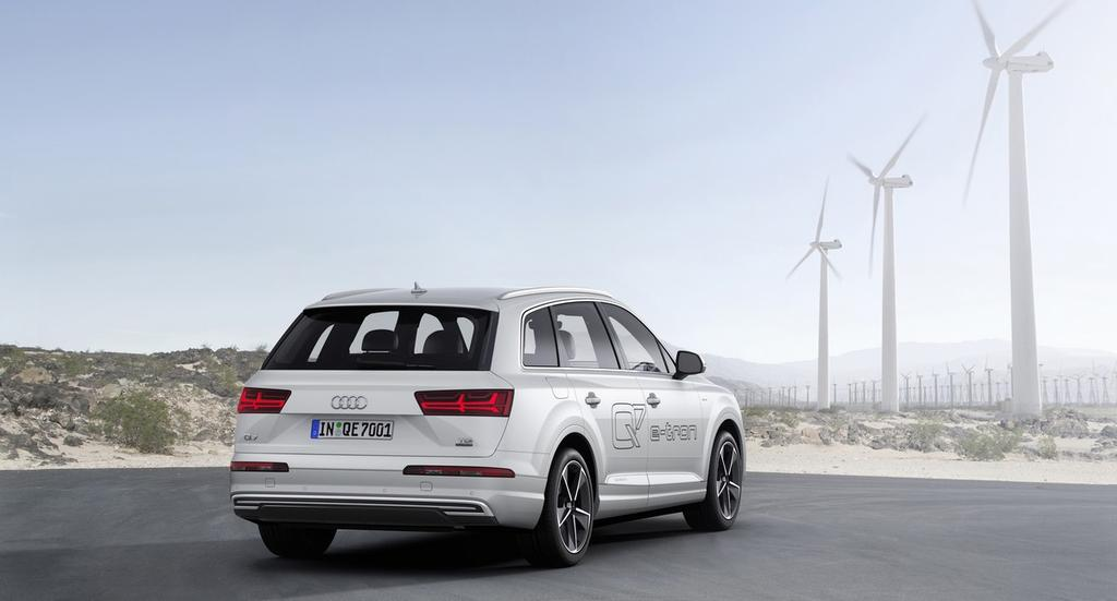 audi q7 e tron prix consommation fiche technique autonomie. Black Bedroom Furniture Sets. Home Design Ideas