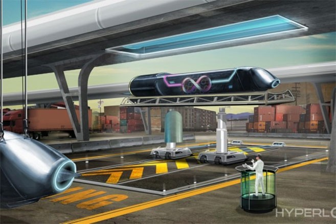 Hyperloop : le train supersonique d'Elon Musk sera testé à Las Vegas
