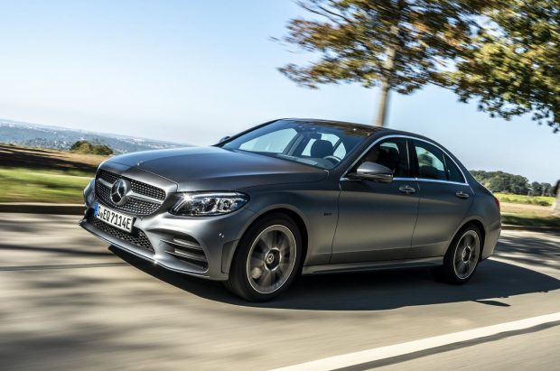 Mercedes Classe C hybride rechargeable