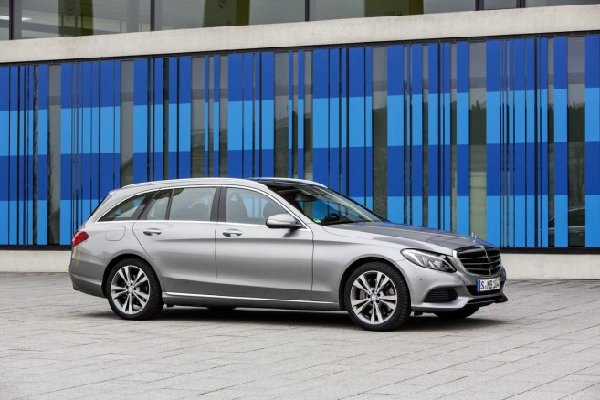 La Classe C 350 PLUG IN HYBRID est aussi disponible en version break
