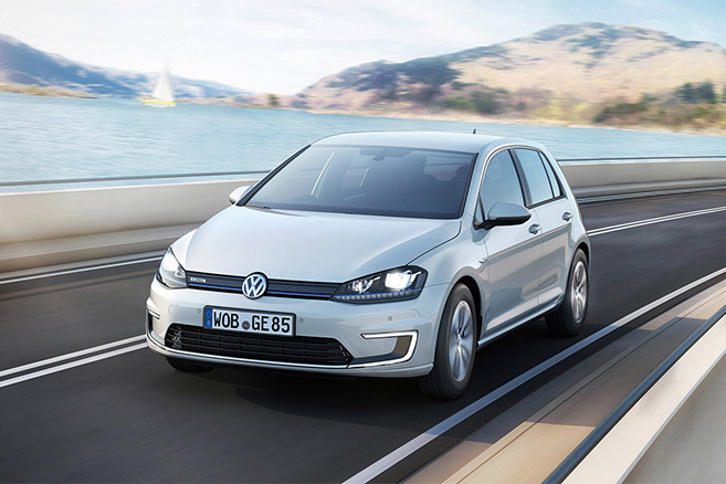 volkswagen e golf une batterie 30 kwh en 2016. Black Bedroom Furniture Sets. Home Design Ideas